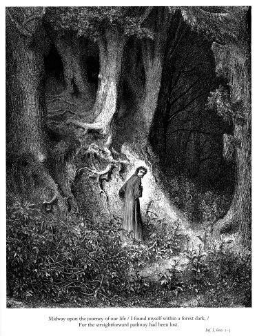 gustave_dorc3a9_-_dante_alighieri_-_inferno_-_plate_1_28i_found_myself_within_a_forest_dark-29